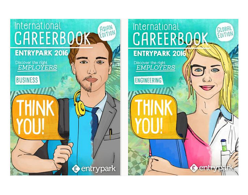 The Entrypark International Career Book 2016 is available!